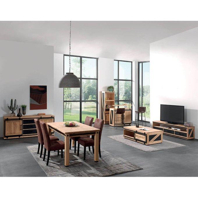 Стол для гостиной Yatelei из массива сосны