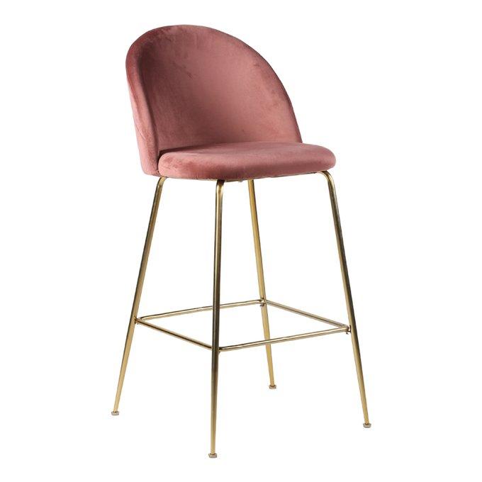 Барный стул Lausanne розового цвета
