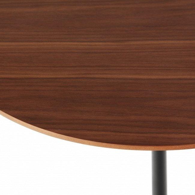 Кофейный стол Tulip Wood с коричневой столешницей