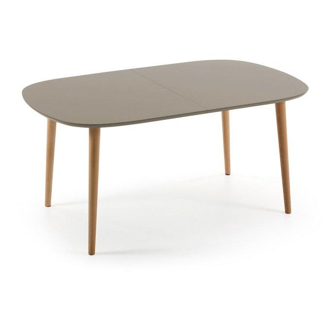 Обеденный овальный стол Julia Grup Oakland Brown