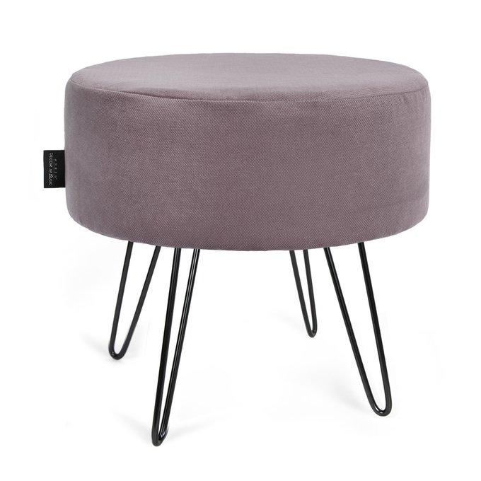 ПуфМетеорAmigoJava серо-фиолетового цвета