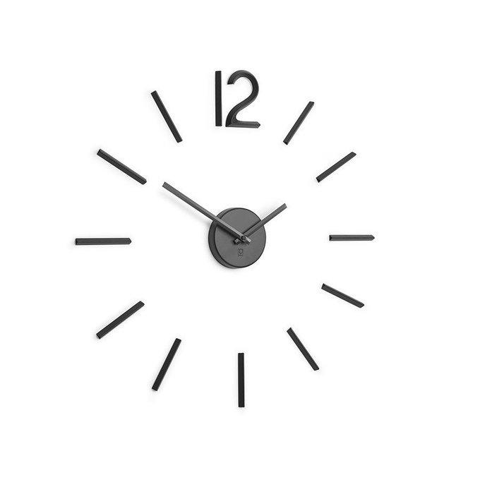 Настенные часы Blink чёрного цвета