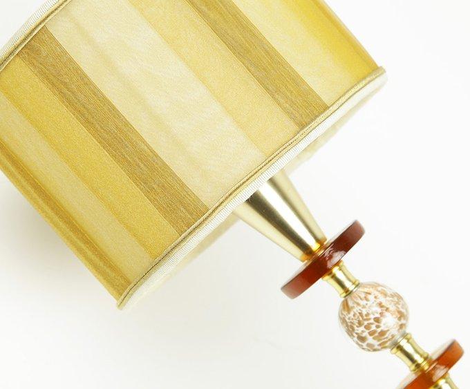 Бра Jago Ghiaccio с декоративными элементами из муранского стекла