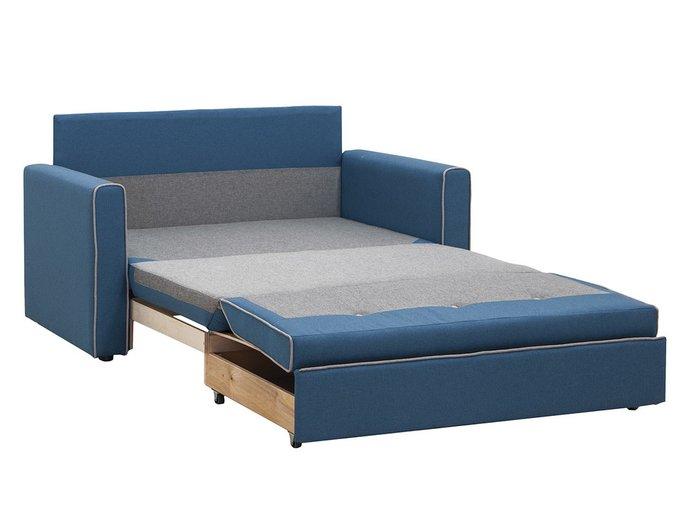 Диван-кровать Найс серо-бежевого цвета