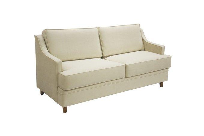 Двухместный диван Видия молочного цвета