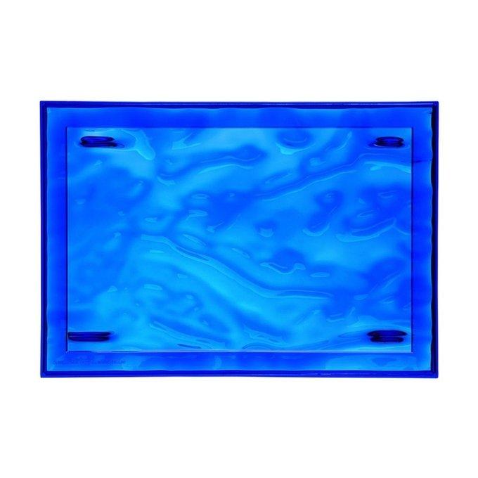 Поднос Dune синего цвета