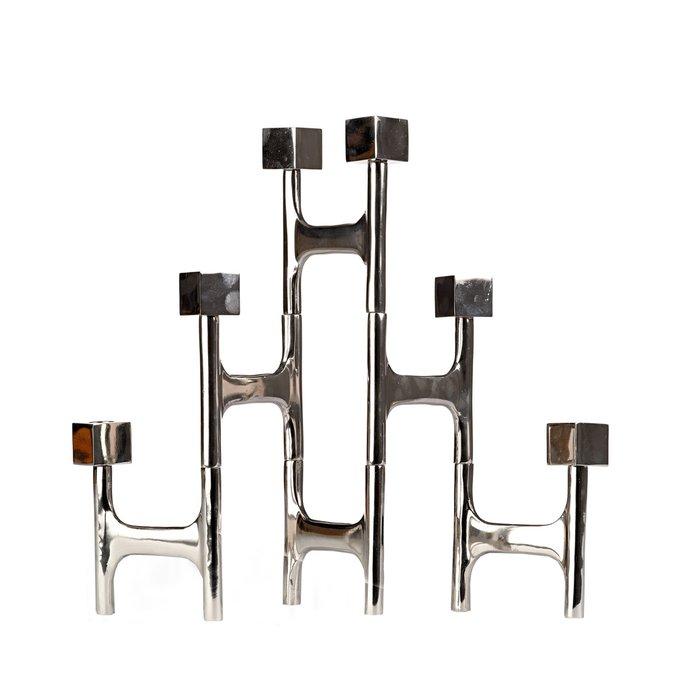 Подсвечник Folding square из металла