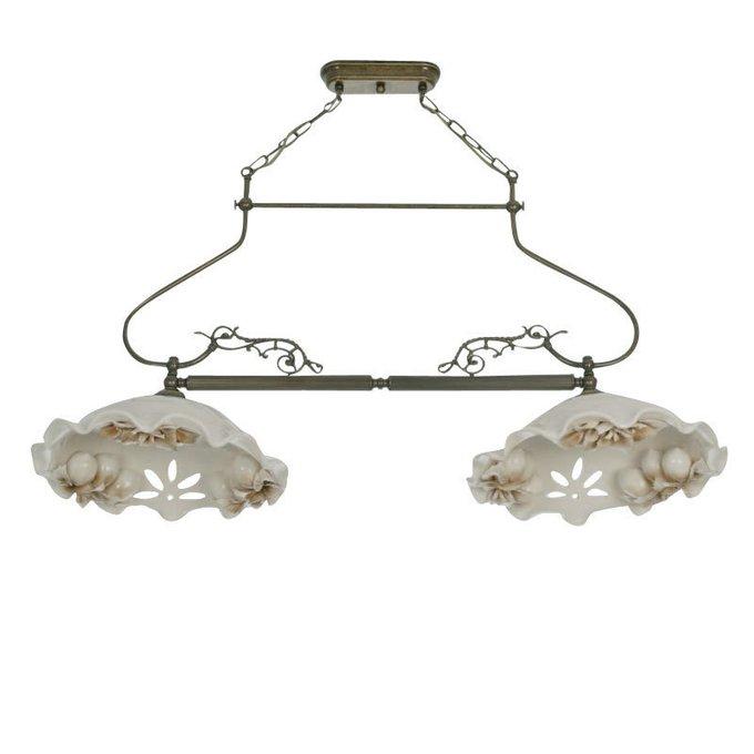 Подвесной светильник Jago Sorrento с белым керамическим абажуром