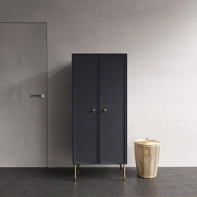Шкаф Moon темно-серого цвета