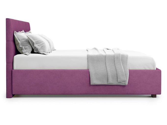 Кровать Garda 140х200 пурпурного цвета с подъемным механизмом