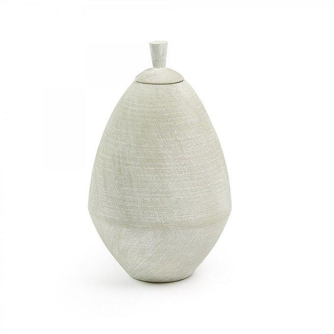 Керамический кувшин Ades Jar светло-серого цвета