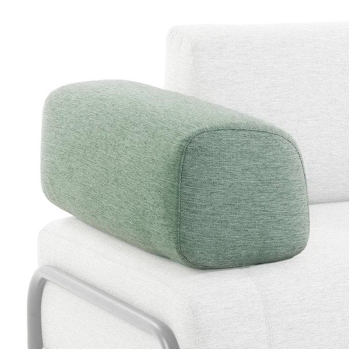 Подушка-подлокотник Compo бирюзового цвета