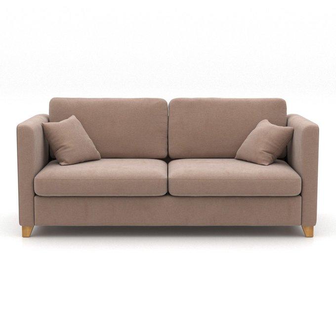 Диван Bari MT коричневого цвета