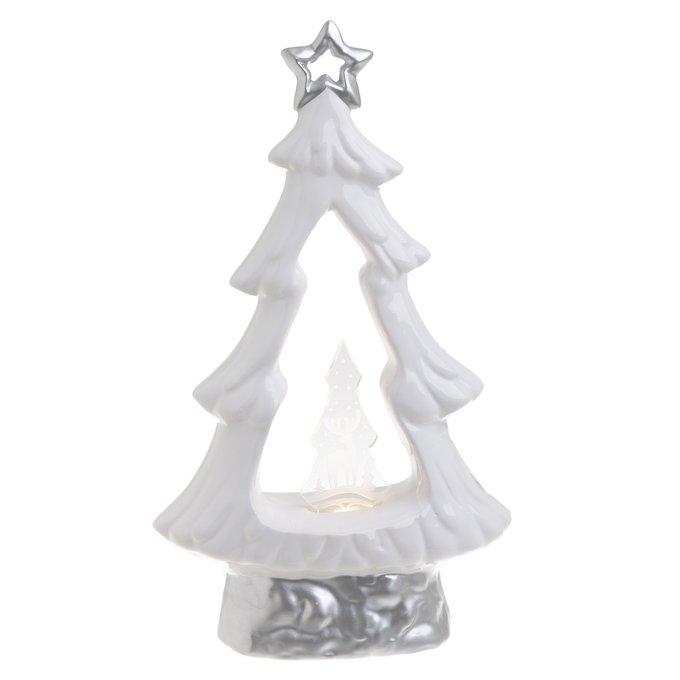 Новогоднее украшение елка Led с подсветкой
