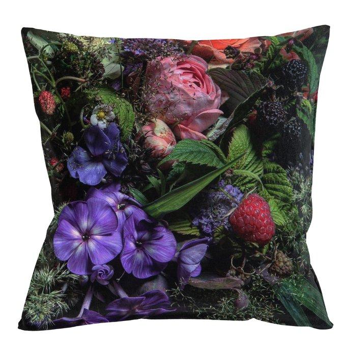 Декоративная подушка Passion Flower с чехлом из полиэстера
