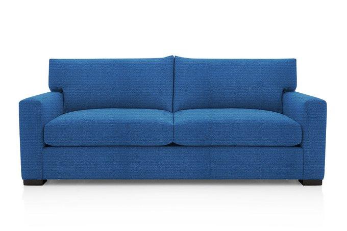 Диван-кровать Нагал синего цвета