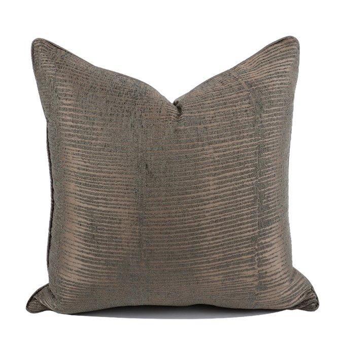 Декоративная подушка Borsa в цвете горький шоколад