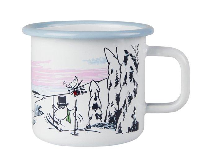 Кружка Moomin Winter Time из стали