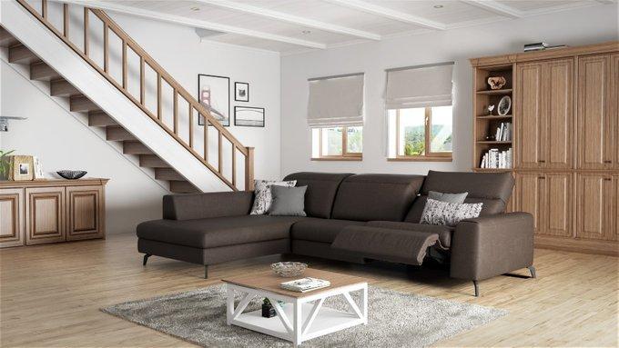 Угловой диван Donato светло-серого цвета