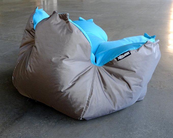 Кресло-мешок Цветок L Tempotest Turquoise