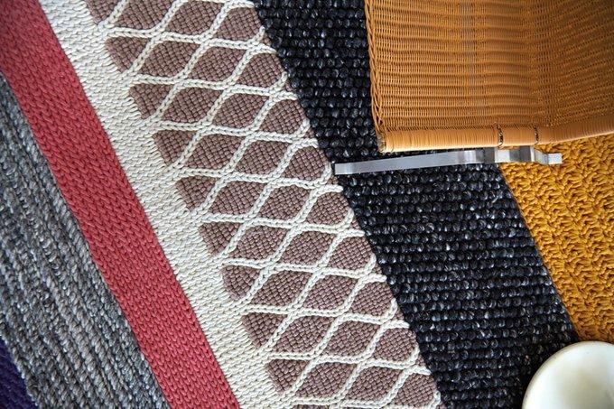 Ковер Rectangular из шерстяной пряжи 145x300