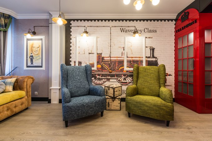 Каминное кресло Лондон