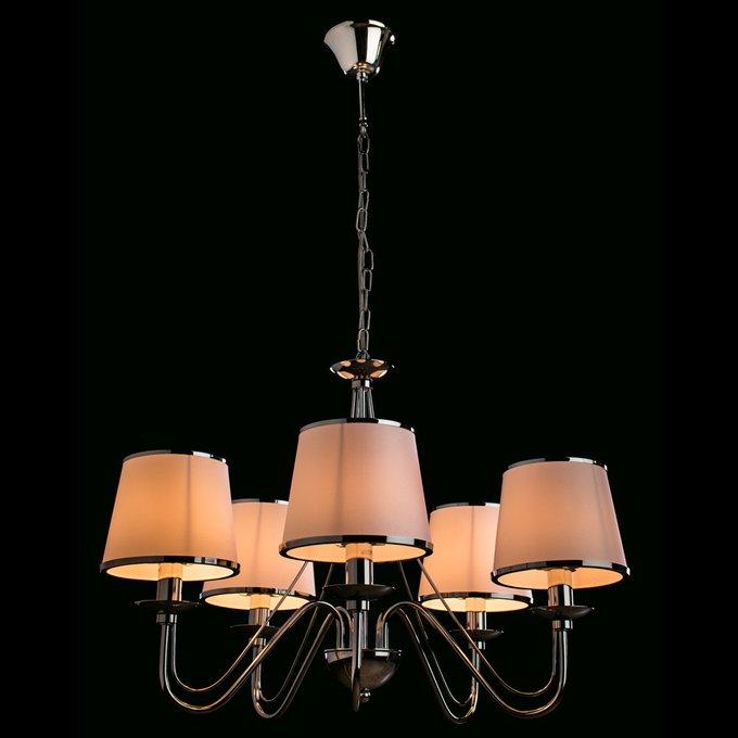 Подвесная люстра ARTE LAMP Furore с белыми абажурами