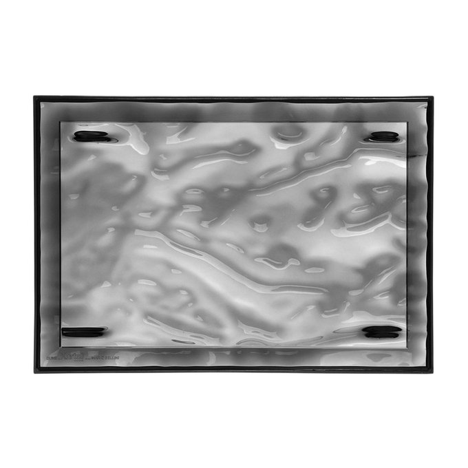 Поднос Dune дымчатого цвета