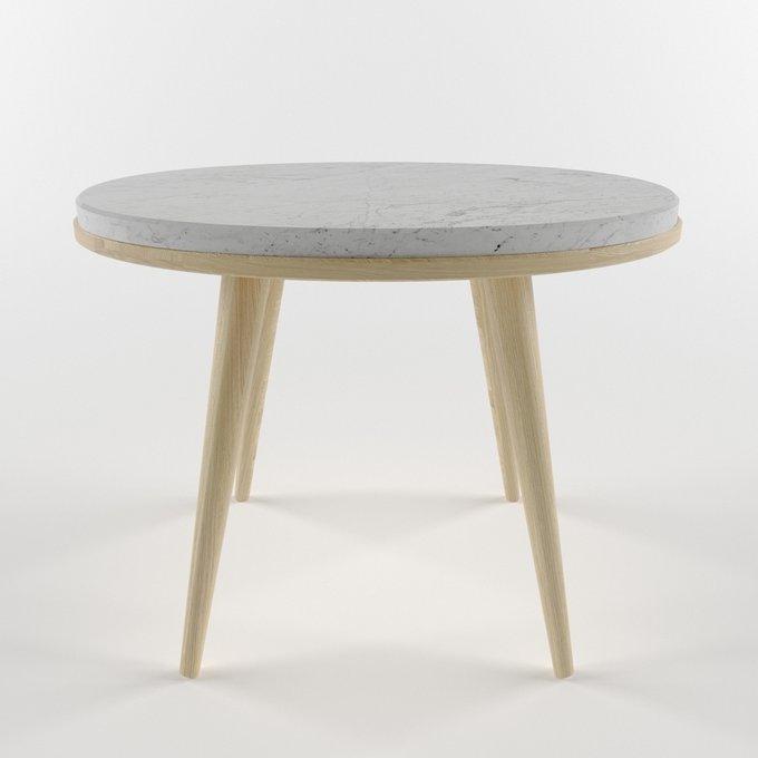 Журнальный столик с мраморной столешницей OREO light