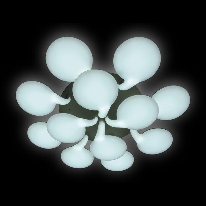 Потолочная светодиодная люстра Orbital Cloud из пластика