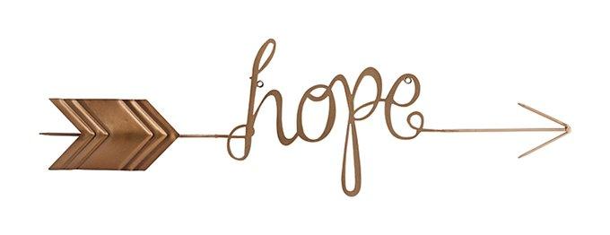 Настенный декор Hope