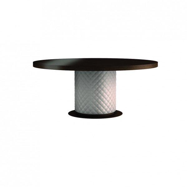 Обеденный стол Baltimora с черной столешницей