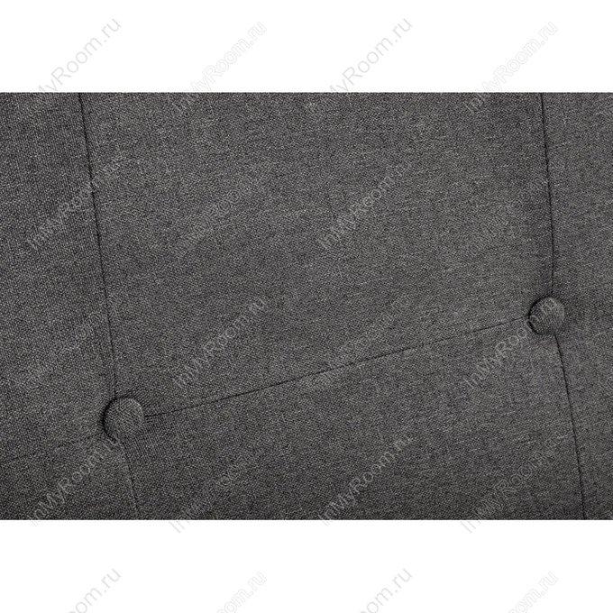 Кровать двуспальная Violet 160х200 темно-серого цвета