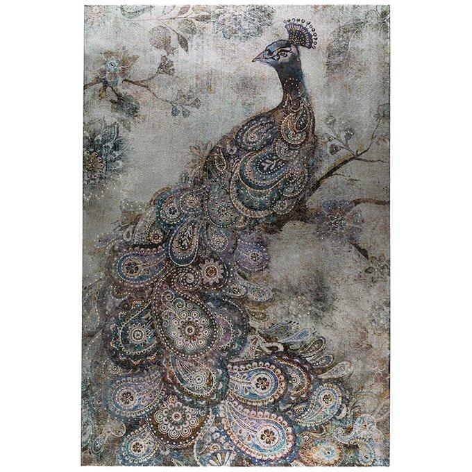 Панно Fortuna с изображением птицы из бисера