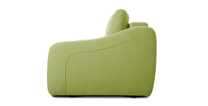 Прямой диван-кровать Иден светло-зеленого цвета