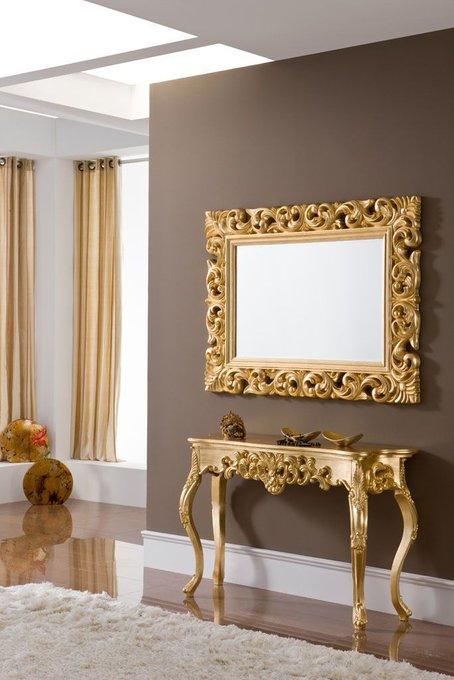 Зеркало Gold в ажурной раме