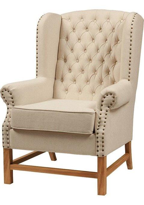 Кресло с высокой спинкой Шарль