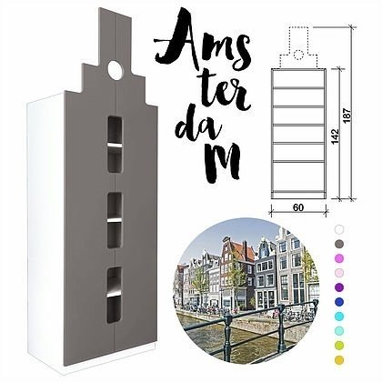 "Шкаф Little Street ""Амстердам"""
