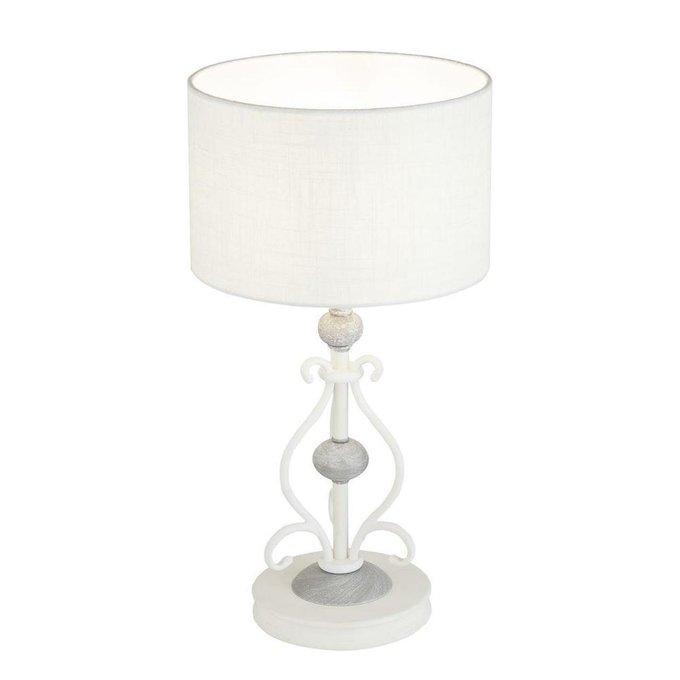 Настольная лампа Karina белого цвета
