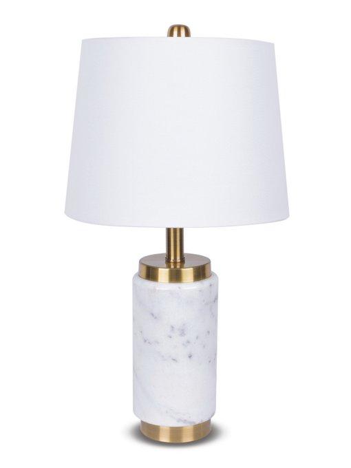 Настольная лампа Norwich с белым абажуром
