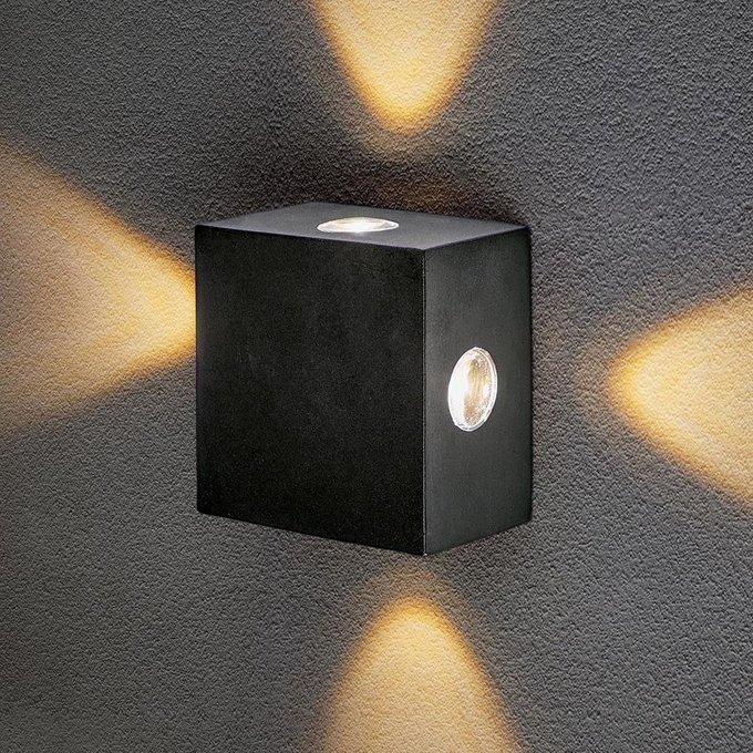 Уличный настенный светодиодный светильник Techno LED Kvatra
