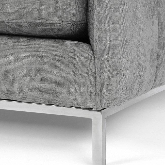 Диван Casper Sofa серого цвета