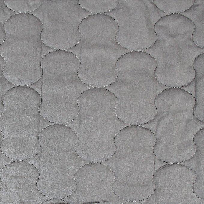 Покрывало стеганое серого цвета 230х250
