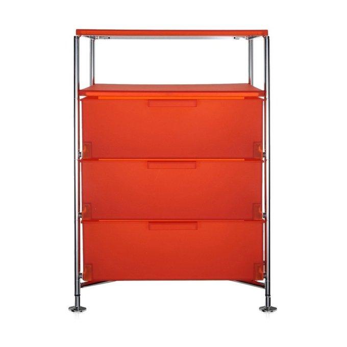 Комод Mobil оранжевого цвета
