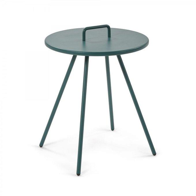 Кофейный столик Accost из металла зеленого цвета