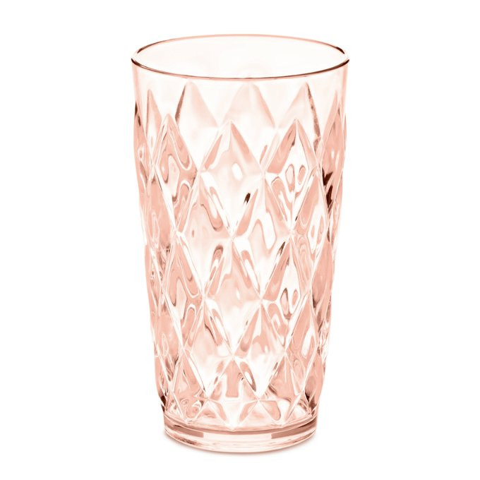 Стакан Crystal l розового цвета