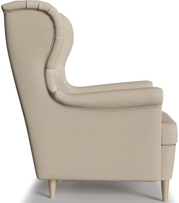 Кресло Торн Ivory бежевого цвета