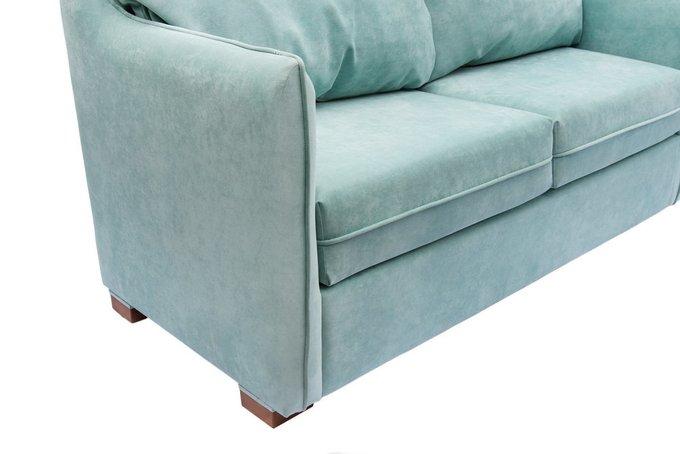 Раскладной диван Arthur M бирюзового цвета