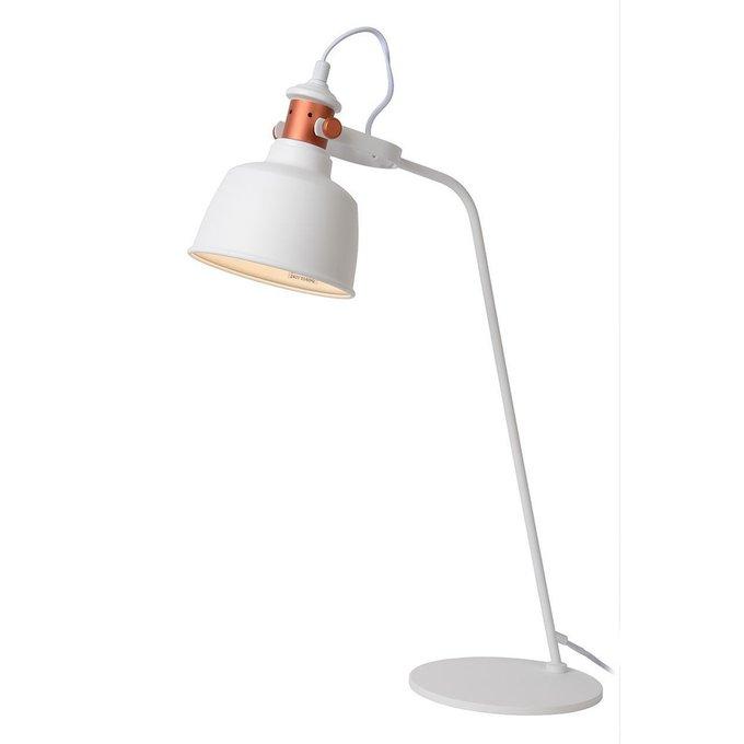 Настольная лампа Tjollбелого цвета