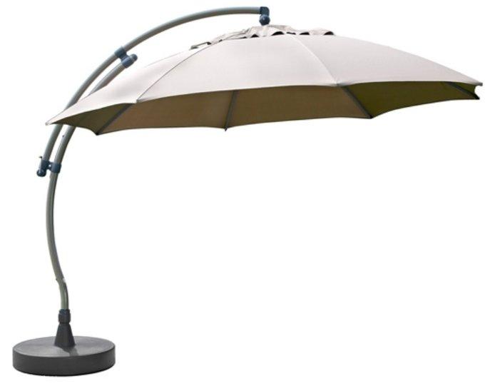 Уличный зонт Easy Sun с боковой опорой